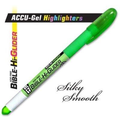 Accu-Gel Bible-Hi-Glider Green