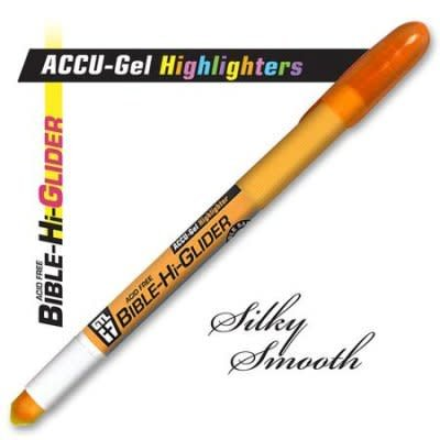 Accu-Gel Bible-Hi-Glider Orange
