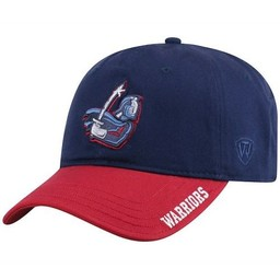Top of the World Strike Cap, Navy Blue & Red