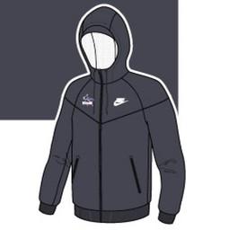Nike Windrunner Jacket - Anthracite Gray -