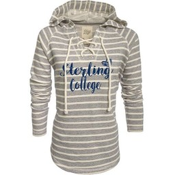 Blue 84 Women's Lace-Up French Terry Hood