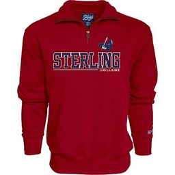 Blue 84 Big Detroit 1/4 Zip, Cardinal Red