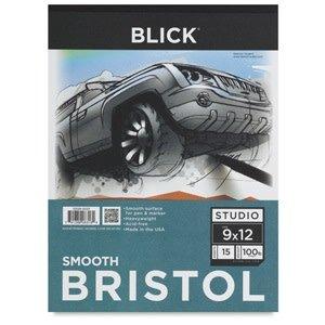 """Blick Bristol Pad, 15 Sheets, Smooth 14"""" × 17"""""""