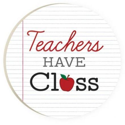 Car Coaster-Teachers Have Class
