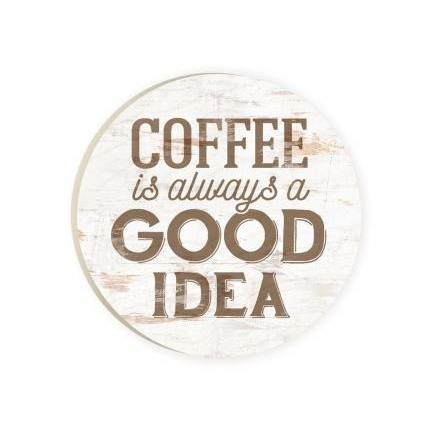 Car Coaster-Coffee Is Always A Good Idea