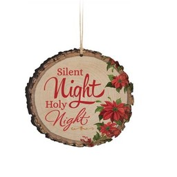 Barky Ornament-Silent Night