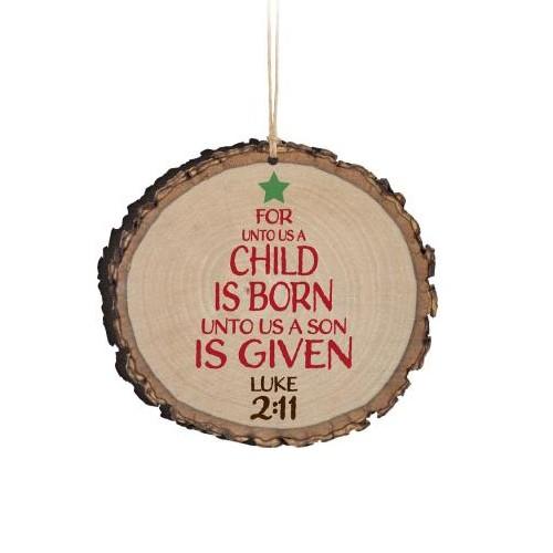 Barky Ornament-Child is Born