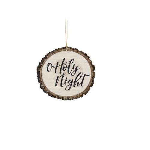 Barky Ornament-O Holy Night (Text Only)