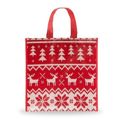 Holiday Sweater Shopping Bag, Small