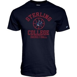 Blue 84 Basketball Tee - Navy -
