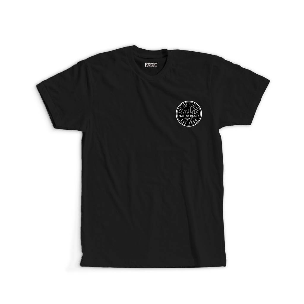 SNKR ROOM TEES SNKR ROOM - HEART OF THE CITY TEE