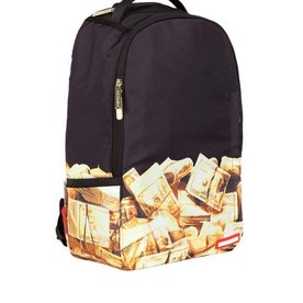 SPRAYGROUND SPRAYGROUND GOLDEN MONEY BACKPACK