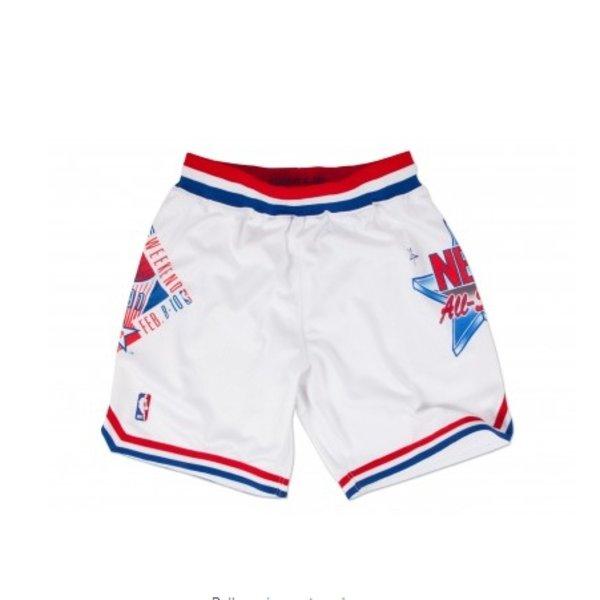 MITCHELL & NESS ALLSTAR 1991 WHITE AUTHENTIC NBA SHORTS