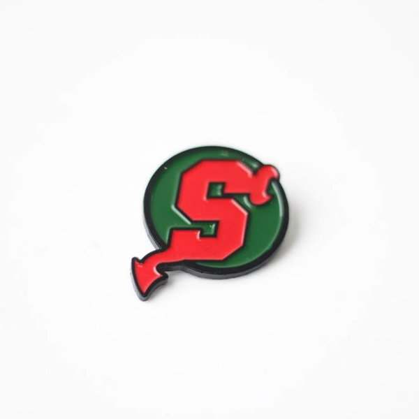 SNKRROOM SINCE DEVIL'S GREEN/RED PIN