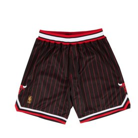 MITCHELL & NESS CHICAGO BULLS PINSTRIPE AUTHENTIC SHORTS