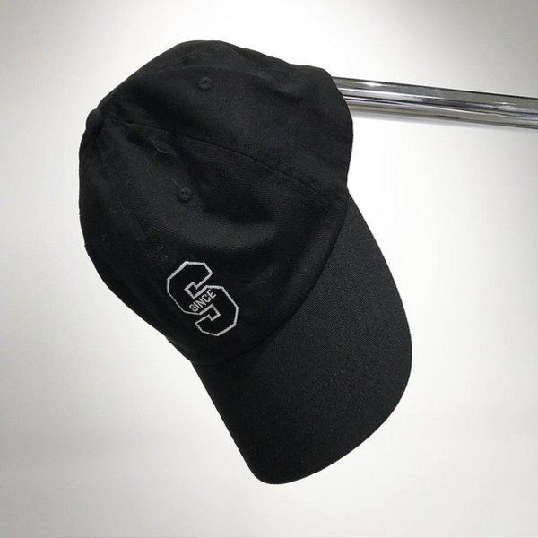 SNKRROOM SINCE '06 LOGO DAD CAP - BLACK