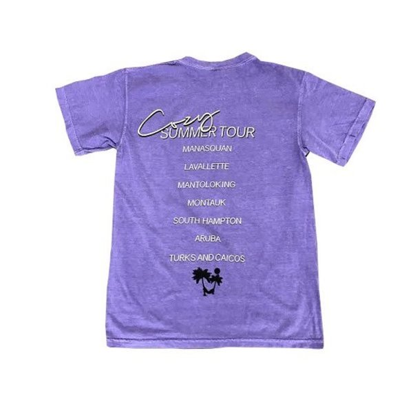 COZY BY MUSH COZY SUMMER TOUR SHORT SLEEVE