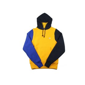 CHAMPION CHAMPION REVERSE WEAVE COLORBLOCK HOODIE