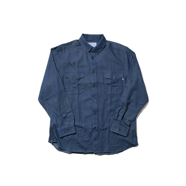 EPTM EPTM SIDE ZIP BUTTON SHIRT