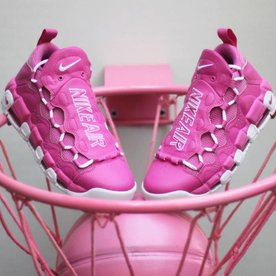 NIKE AIR MORE MONEY QS - BC PINK