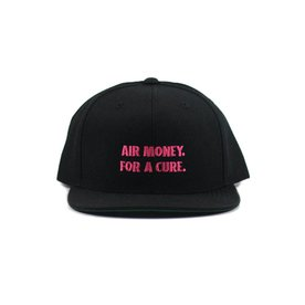 SNKRROOM AIR MORE MONEY BC STACKED SNAPBACK