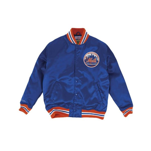 MITCHELL & NESS MLB SATIN JACKET - METS