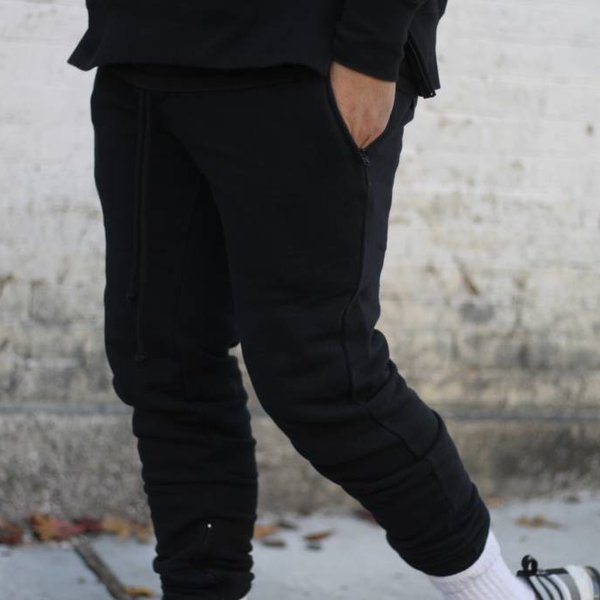 EPTM EPTM FLEECE PANTS - BLACK