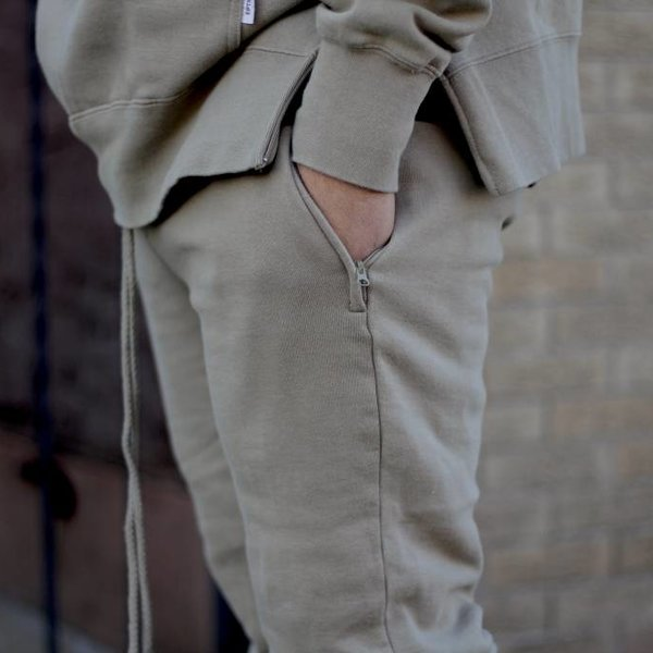 EPTM EPTM FLEECE PANTS - TAN