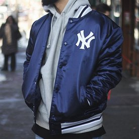 MITCHELL & NESS MLB SATIN JACKET - YANKEES