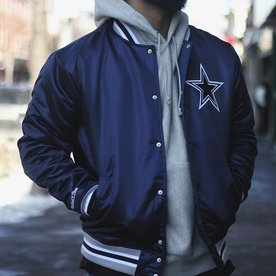 MITCHELL & NESS NFL SATIN JACKET COWBOYS