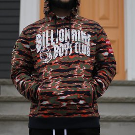 BILLIONAIRE BOYS CLUB TIGER CAMO HOODIE