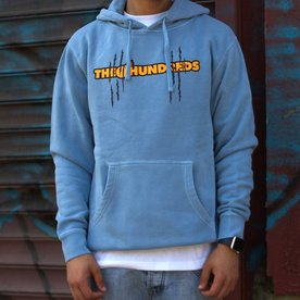 THE HUNDREDS GARFIELD BAR PULLOVER HOODIE - BLUE