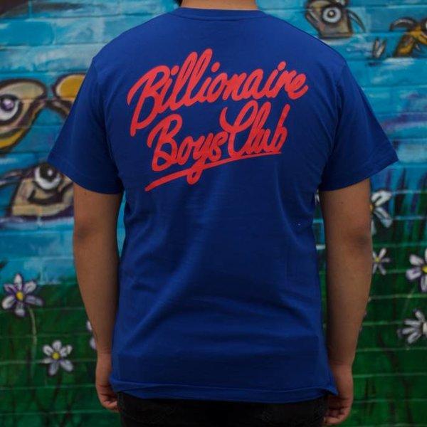 BILLIONAIRE BOYS CLUB BBC NEON GLOBE - SURF BLUE