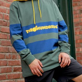 THE HUNDREDS RIDGE HOODED KNIT