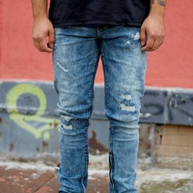PACIFIC DENIM - MID BLUE