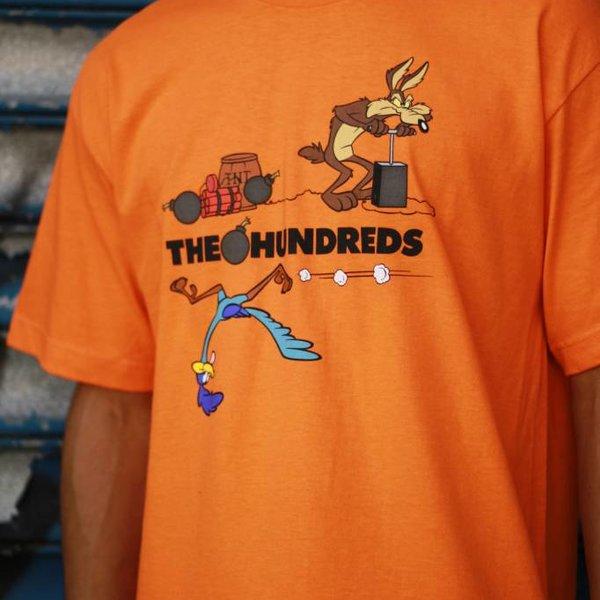 THE HUNDREDS ACME TNT TEE - ORNG