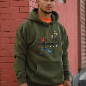 THE HUNDREDS DYNAMITE PULLOVER - OLIVE