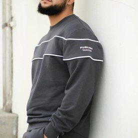 PUBLISH JEROME L/S - SLATE