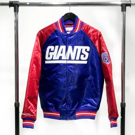 MITCHELL & NESS M&N SATIN JACKET - GIANTS