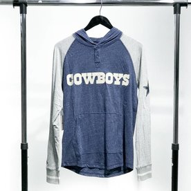 MITCHELL & NESS M&N COWBOYS HENLEY
