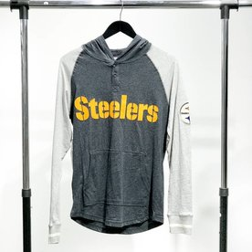 MITCHELL & NESS M&N STEELERS HENLEY