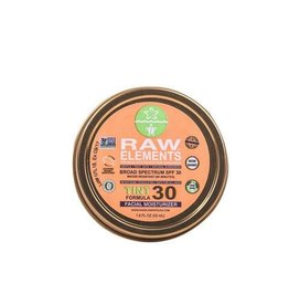 Raw Elements Raw Elements Tint Formula SPF 30+ Facial Moisturizer Tin - Net wt. 1.8 oz.