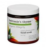 Brittanie's Thyme Brittanie's Thyme Organic Almond Oatmeal Facial Scrub Net wt. 4.0 oz.