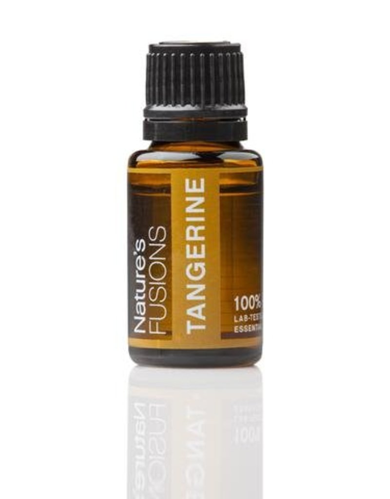 Nature's Fusions Nature's Fusions 100% Pure, Therapeutic Essential Oil Tangerine 15ml