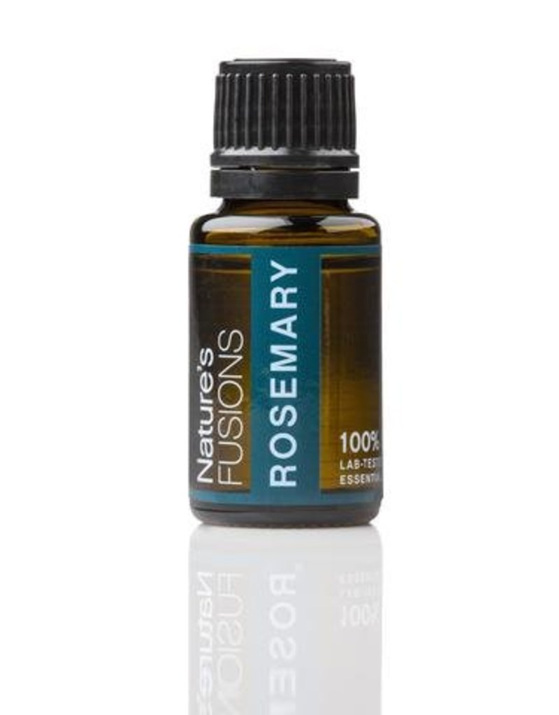 Nature's Fusions Nature's Fusions 100% Pure, Therapeutic Essential Oil Rosemary 15ml