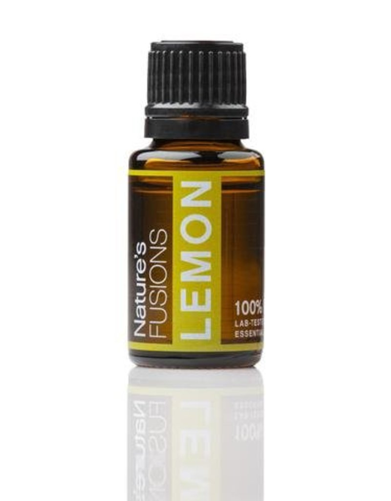 Nature's Fusions Nature's Fusions 100% Pure, Therapeutic Essential Oil Lemon 15ml