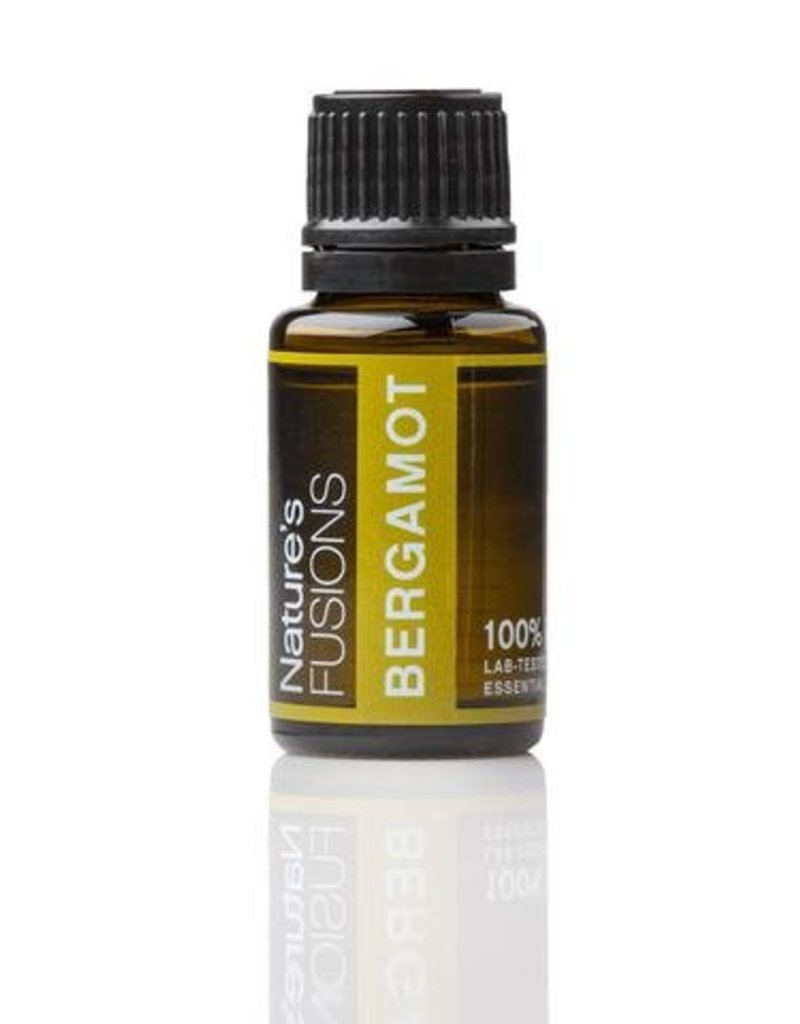 Nature's Fusions Nature's Fusions 100% Pure, Therapeutic Essential Oil Bergamot 15ml