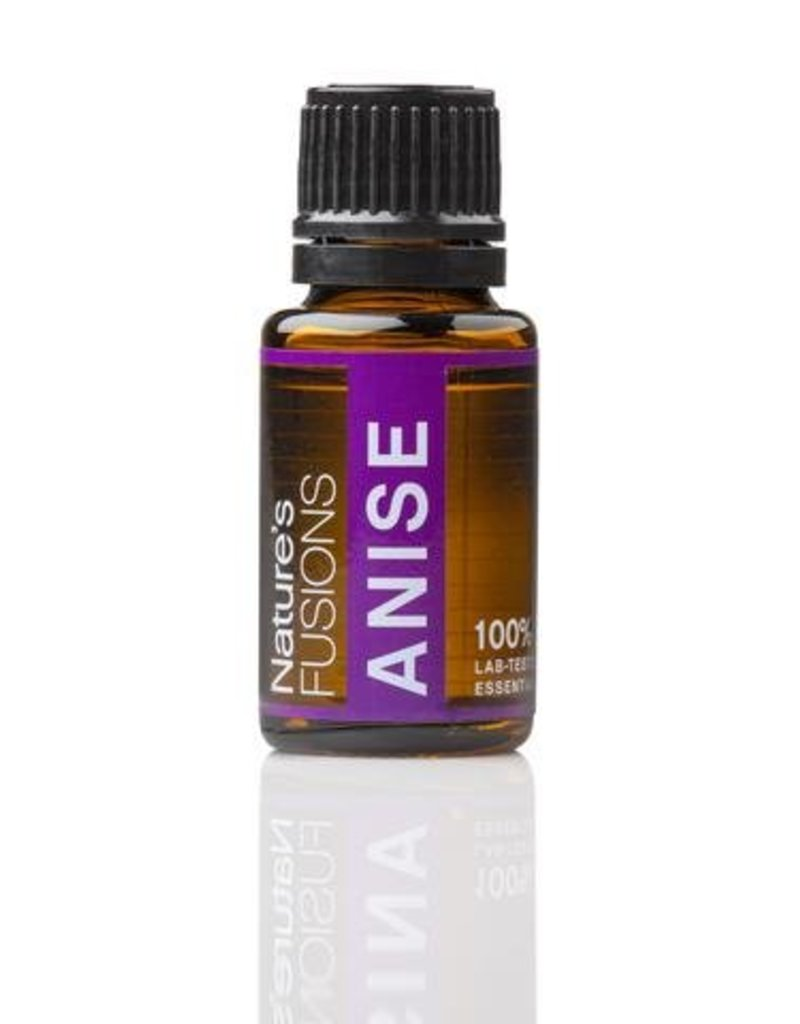 Nature's Fusions Nature's Fusions 100% Pure, Therapeutic Essential Oil Anise 15ml