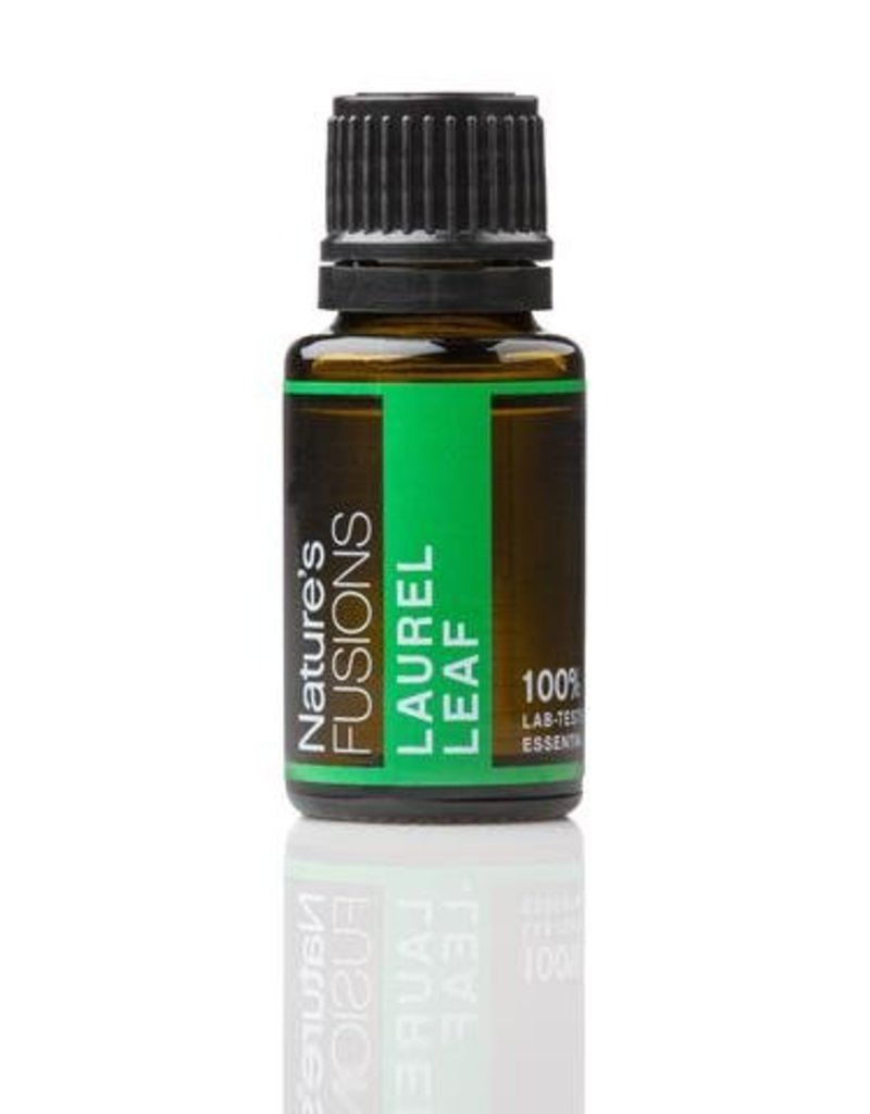 Nature's Fusions Nature's Fusions 100% Pure, Therapeutic Essential Oil Laurel Leaf 15ml