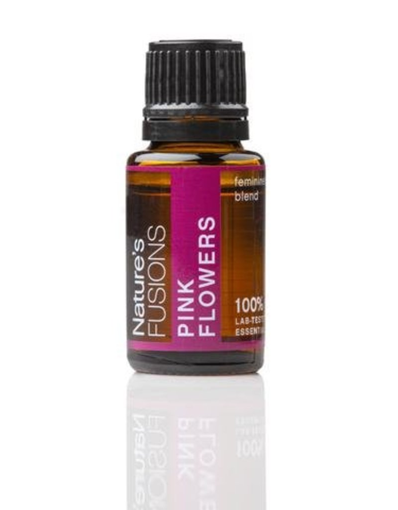 Nature's Fusions Nature's Fusions 100% Pure, Therapeutic Essential Oil Pink Flowers 15ml